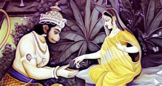 hanuman-sita